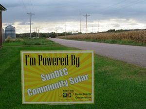 Dunn Energy Co-op SunDEC Community Solar