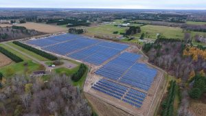 Dairyland solar farm, Medford, WI for Taylor Electric Cooperative